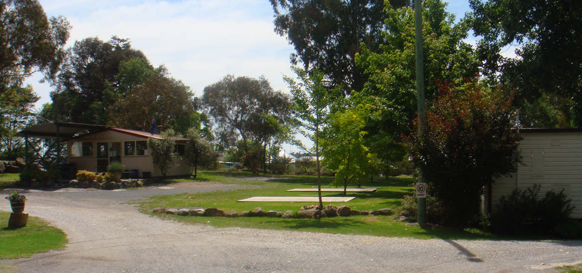 View of grounds at Tenterfield Lodge